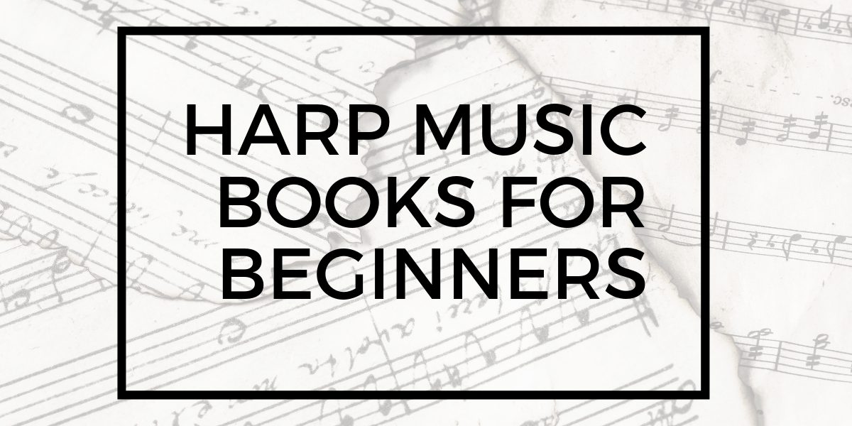 harp music books for beginners